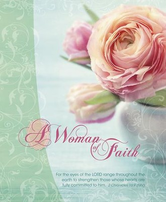 A Woman of Faith, Pack of 100 Large Bulletins  -