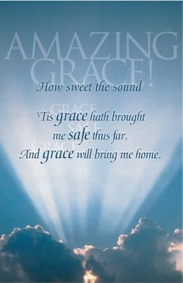 Amazing Grace Sunlight & Clouds Bulletins, 100   -