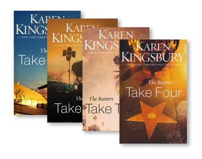 Above the Line Series, Volumes 1-4  -     By: Karen Kingsbury