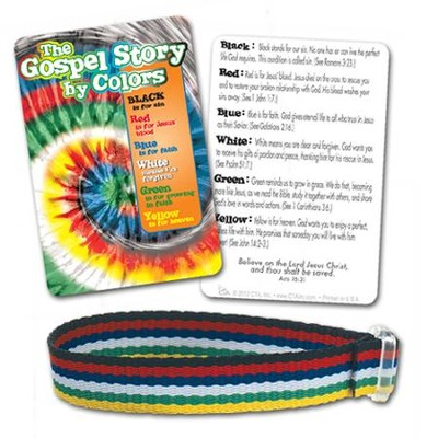 Gospel Story Cloth Bracelet  -