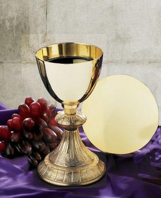Dual Finish Chalice with Paten Set  -