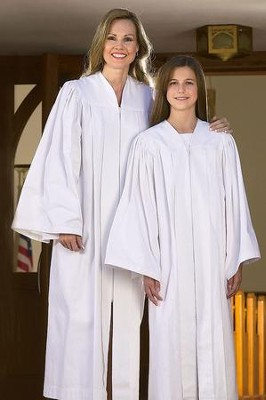 Adult Baptismal Gown, X-Large (6'4 and Up)  -