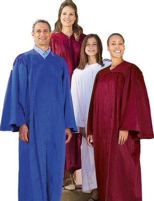 Choir Robe, Royal Blue, Junior  -