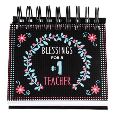 Blessings For A #1 Teacher Perpetual Calendar  -