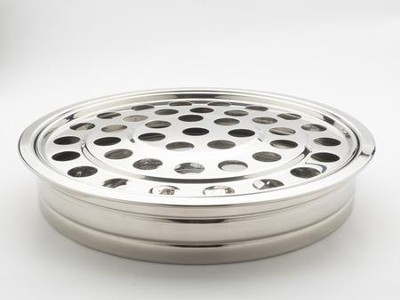 Stacking Communion Tray, Silver Finish   -
