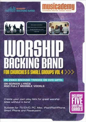 Worship Backing Band for Churches and Small Groups Volume 4  -