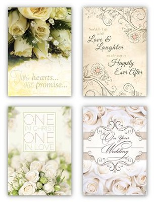 To Have and to Hold, Box of 12 Assorted Wedding Cards (KJV)  -