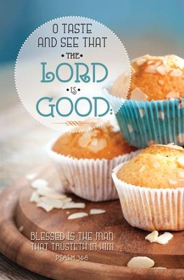 Taste and See (Psalm 34:8) Bulletins, 100  -