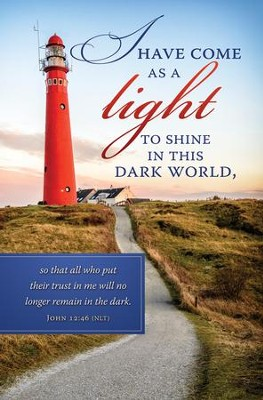 A Light to Shine (John 12:46, NLT) Bulletins, 100  -
