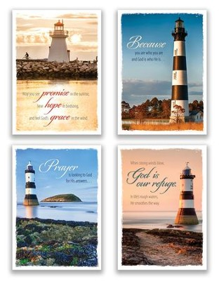 Beacon of Hope, Box of 12 Assorted Praying for You Cards (KJV)  -
