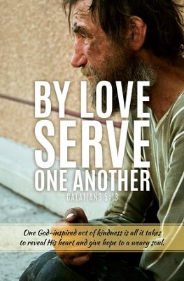 Serve One Another (Galatians 5:13) Bulletins, 100  -