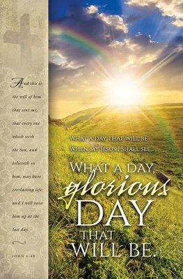 What a Glorious Day (John 6:40) Bulletins, 100  -