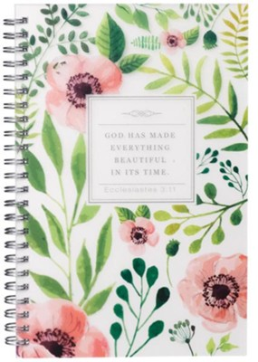 God Has Made Everything Beautiful Wirebound Notebook  -