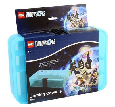 Transparent Light Blue LEGO Dimensions Gaming Capsule (for 42 Pieces)  -
