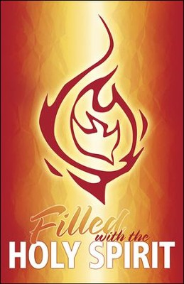 Filled with the Holy Spirit Flames and Dove Artwork (Acts 2:4, NIV) Bulletins, 100  -