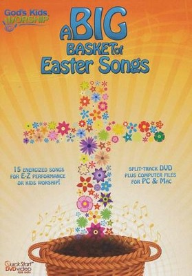 Big Basket of Easter Songs DVD   -