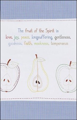 The Fruit of the Spirit Hand Stitched (Galatians 5:22-23) Bulletins, 50  -