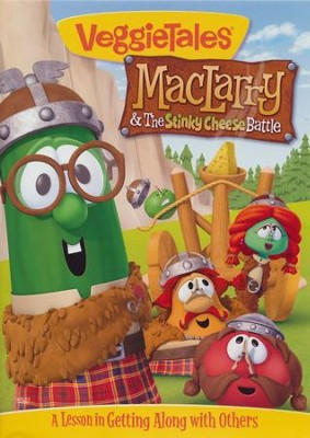 MacLarry & the Stinky Cheese Battle  -     By: VeggieTales