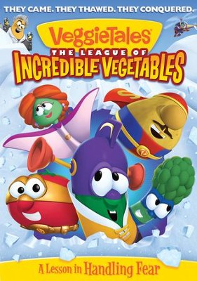 The League of Incredible Vegetables w/ Puzzle  -     By: VeggieTales