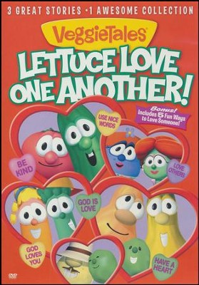 Lettuce Love One Another! DVD   -     By: VeggieTales