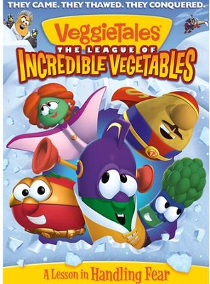 The League of Incredible Vegetables, DVD   -     By: VeggieTales