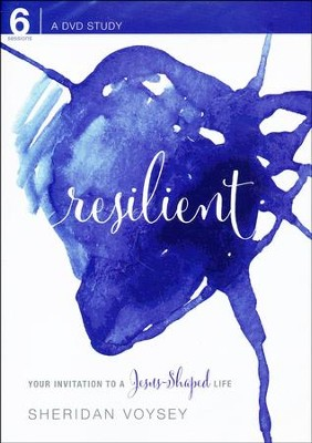 Resilient: Your Invitation to a Jesus Shaped Life, DVD   -     By: Sheridan Voysey