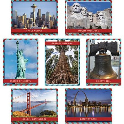 U.S. Landmarks Instructional Accents, Pack of 36  -
