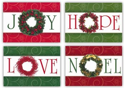 Heavenly Gifts, Box of 12 Christmas Cards (NIV)  -