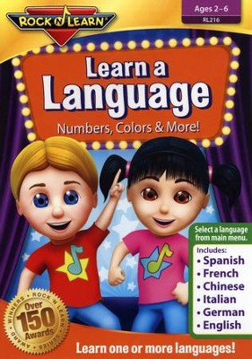Learn a Language - Numbers, Colors, & More  -