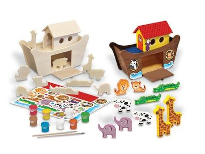 Noah's Ark, Deluxe Wood Paint Kit  -