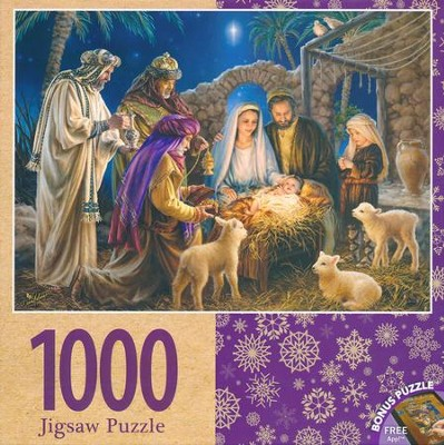 A Child is Born, 1000 Piece Jigsaw Puzzle   -
