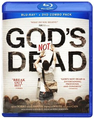 Gods Not Dead, Blu-ray/DVD Combo  -