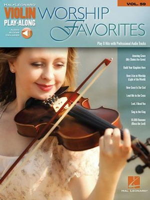 Worship Favorites (Violin) Book/Online Audio  -