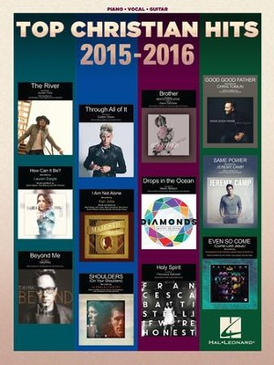Top Christian Hits 2015-2016 (Piano/Vocal/Guitar)  -