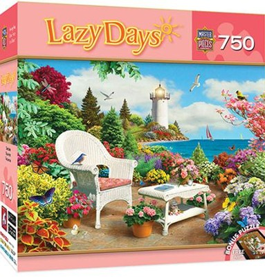 Memories, Lazy Days Jigsaw Puzzle 750 Pieces   -