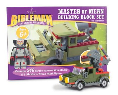 Bibleman Master of Mean Building Block Set   -