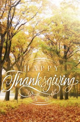Happy Thanksgiving Pathway Bulletins, 100   -