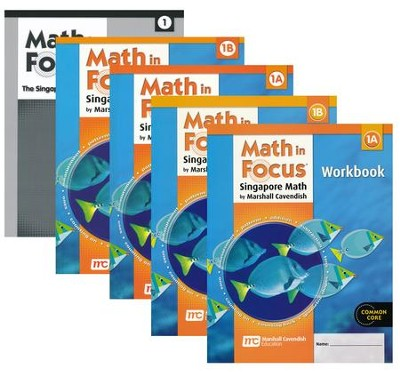 Math in Focus Grade 1 Homeschool Package (with Answer Key ...