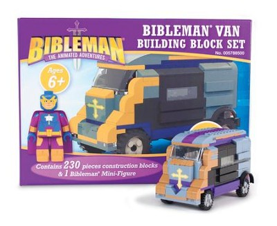 Bibleman Van Building Block Set   -