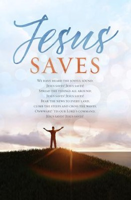 Jesus Saves Bulletins, 100  -