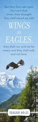 Wings As Eagles (Isaiah 40:31, KJV) Bookmarks, 25  -