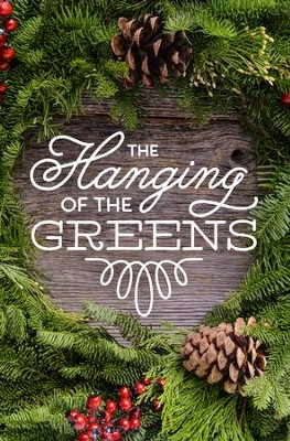 Hanging of the Greens Pinecones Bulletins, 100   -