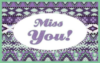 Miss You Splash Postcards, 25  -