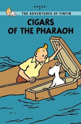 The Adventures of Tintin: Cigars of the Pharaoh, Young Readers Edition  -     By: Herge