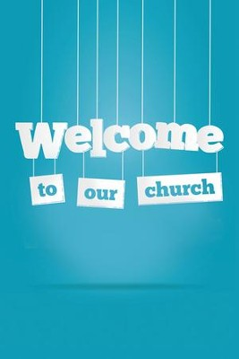 Welcome to our Church Folders (Psalm 122:1) Pack of 12  -