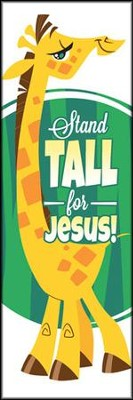 Stand Tall for Jesus (1 Corinthians 16:13, NIV) Bookmarks, 25  -