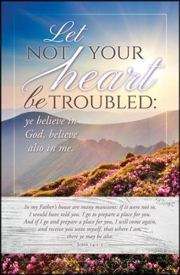 Let not Your Heart (John 14:1-3) Bulletins, 100  -