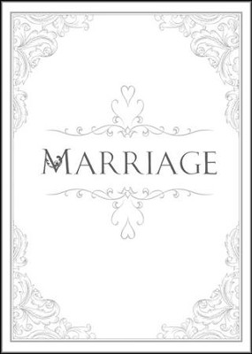 Marriage Folded Certificates (1 Peter 1:22, NIV) Package of 6  -