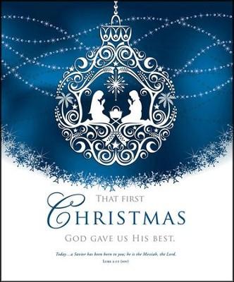 His Best, Large Bulletin (Luke 2:11, NIV) Bulletins, 100 ...