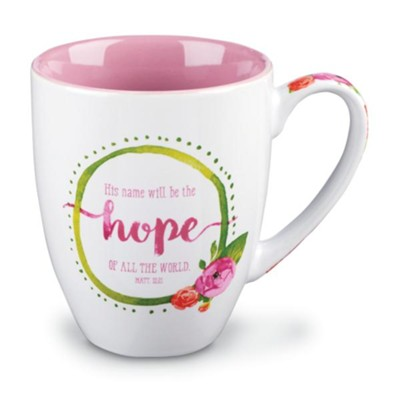 His Name will be the Hope of All, Mug       -